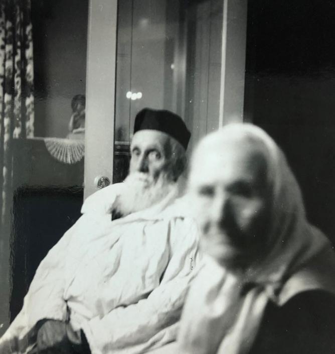 Nanny's grandparents Chaim and Rose Babitsky