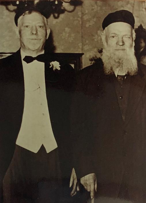 Jacob and Heshel Schottenstein, 1941