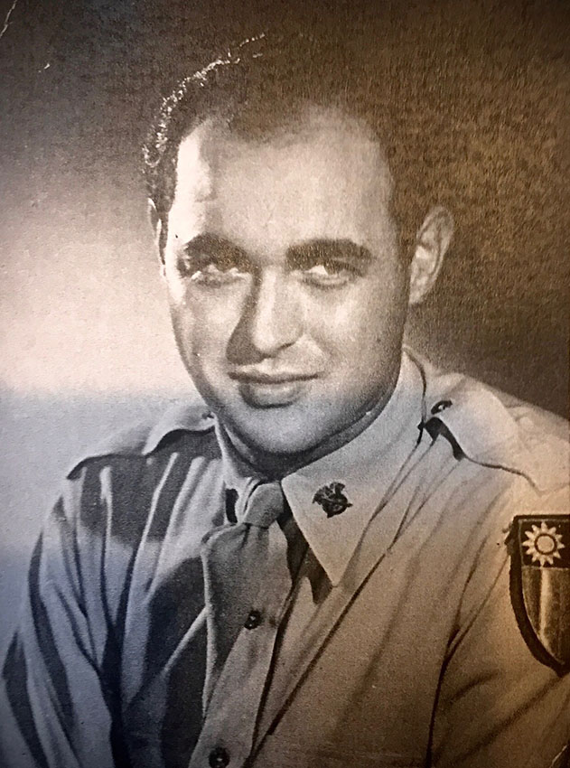 Papa Alvin during WWII