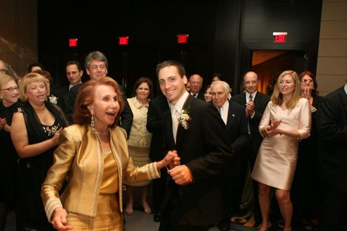 Sean and Nanny dancing at my wedding in NYC, 2006
