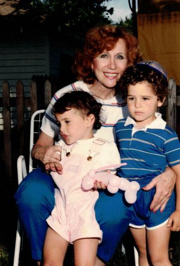 Nanny, Cathy, and Evan, Columbus, OH, 1984